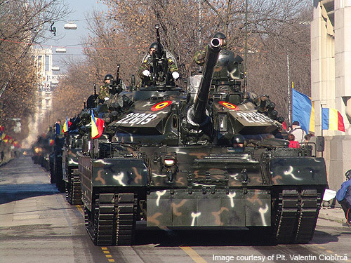 TR-85 M1 Bison – Romanian modernisation of the T-55 MBT
