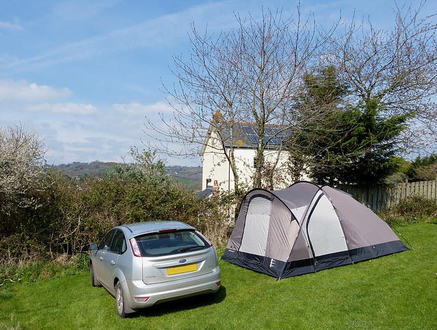 25829 - Camping, Lyme Regis