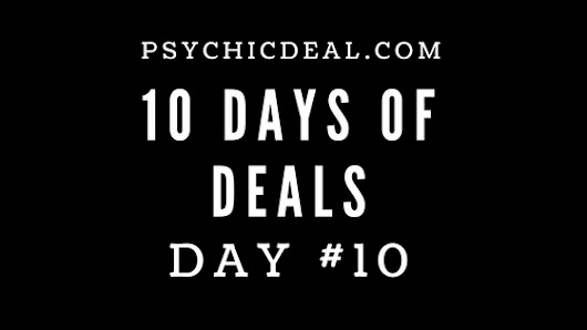 Ten Days of Deals (Day #10): Receive a 15-Minute Telephone Psychic Reading for $10. | Great Deals on Professional Psychic Services