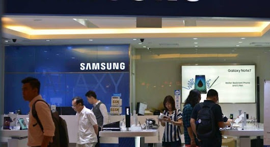 Samsung Store in Singapore Catches Fire a Day Before Galaxy S8 Reveal