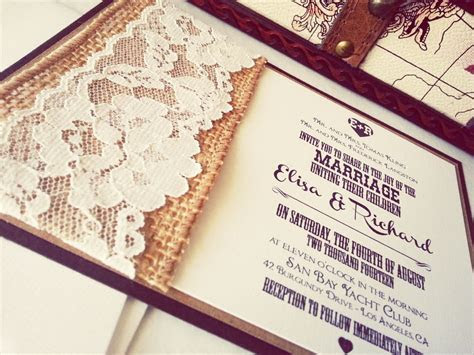 20 Rustic wedding invitations Ideas   Rustic Wedding