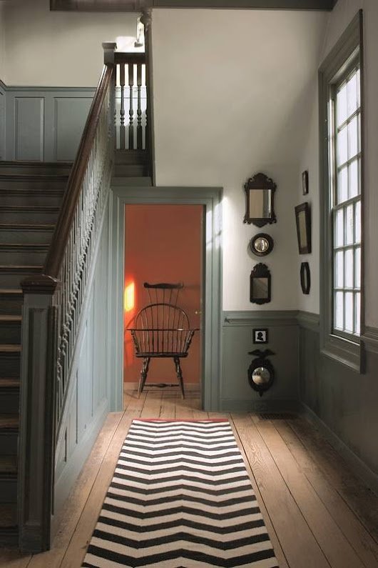 For a look that's truly timeless, choose historical paint colors