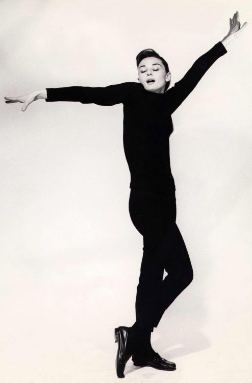 rareaudreyhepburn:  Audrey Hepburn - Funny Face promotional photo, 1957.