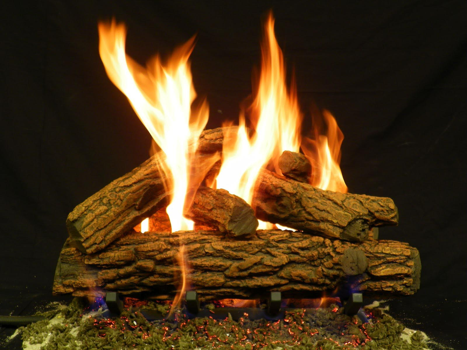 Fake Logs For Gas Fireplace Fireplace Designs