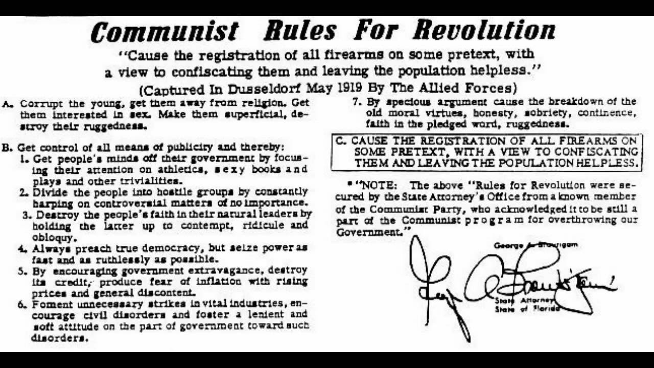 Image result for Communists make lists for extermination