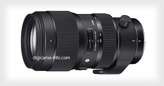 Sigma to Unveil a Crazy Fast 50-100mm f/1.8 Art Lens