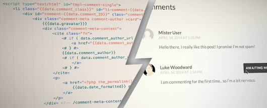 wp.template for front end templating in WordPress - Luke on Everything