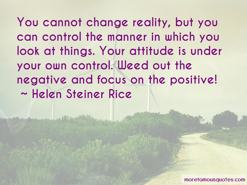 You Can Control Quotes Top 190 Quotes About You Can Control From