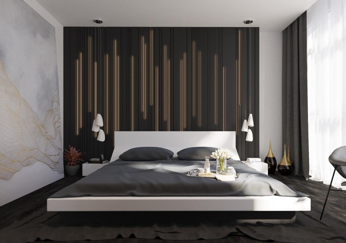 modern bedroom art ideas