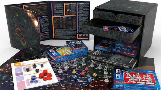 Of Course the New Star Trek RPG Comes in a Borg Cube Box