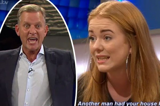 Jeremy Kyle guest shocks with 'X-rated' request when she asks the host to 'do her again