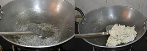 sugar syrup for cashew nut burfi