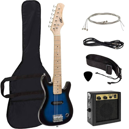 Best Choice Products 30 in Kids 6-String Electric Guitar Starter Kit