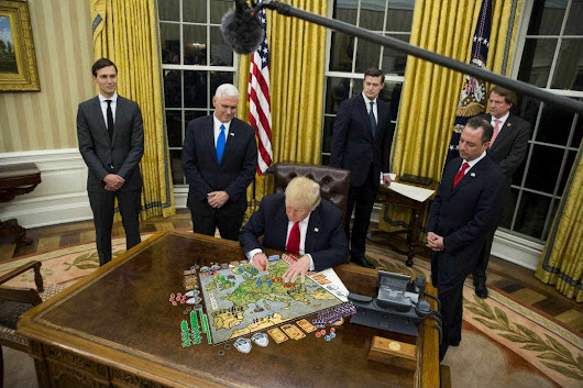 Trump Currently Winning an Epic Game of Risk
