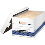Bankers Box Stor/File Storage Box with Locking Lid,