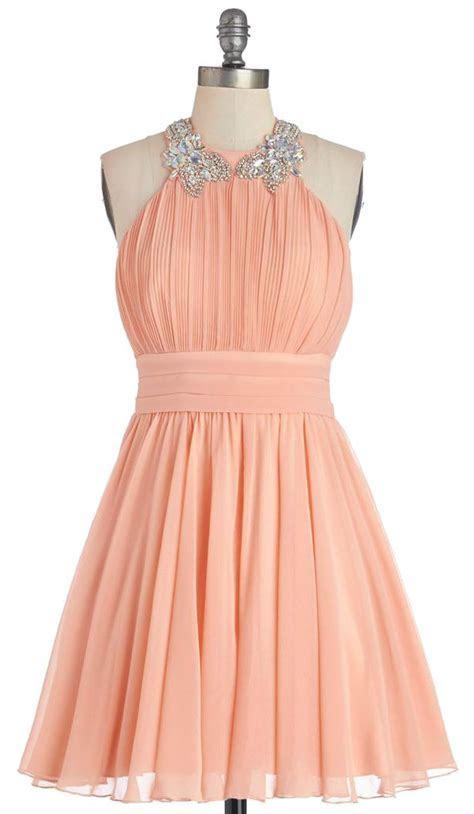 25  best ideas about Peach Dresses on Pinterest   Peach