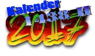 Tanggal-tanggal penting Kalender Islam di tahun 2017