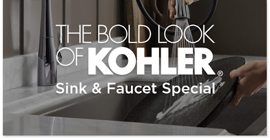 Kohler Sink and Faucet Special