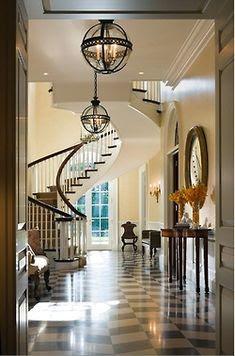 Entryways/Foyers/Staircases/Hallways-1 on Pinterest