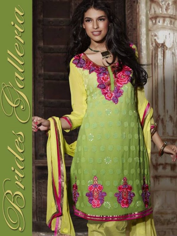 Brides Galleria Latest New Punjabi Suits Fashionable Collection for Girls-Womens Wear Dress14