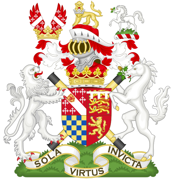 File:Coat of Arms of the Duke of Norfolk, the Earl Marshal.svg