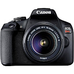 Canon EOS Rebel T7 With EF-S 18-55mm f/3.5-5.6 DC III Lens