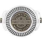 Harley-Davidson Men's Gold Toned Medallion Bar & Shield Ring, Steel HSR0045