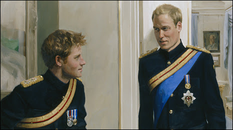 Prince William and Prince Harry: a new portrait by Nicky Phillips