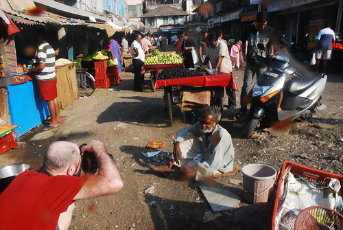 Bandra Bazar Road Through The Cosmic Eye of An American Photographer by firoze shakir photographerno1