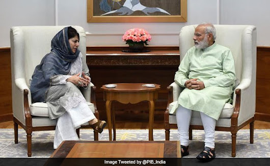 Student Protests In Srinagar As Mehbooba Mufti Meets PM Narendra Modi In Delhi: 10 Points
