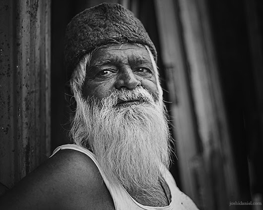 An old scrap dealer from Bangalore