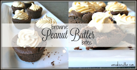 Peanut Butter Brownie Cups - You Link It, We Make It #19 - Uncookie Cutter