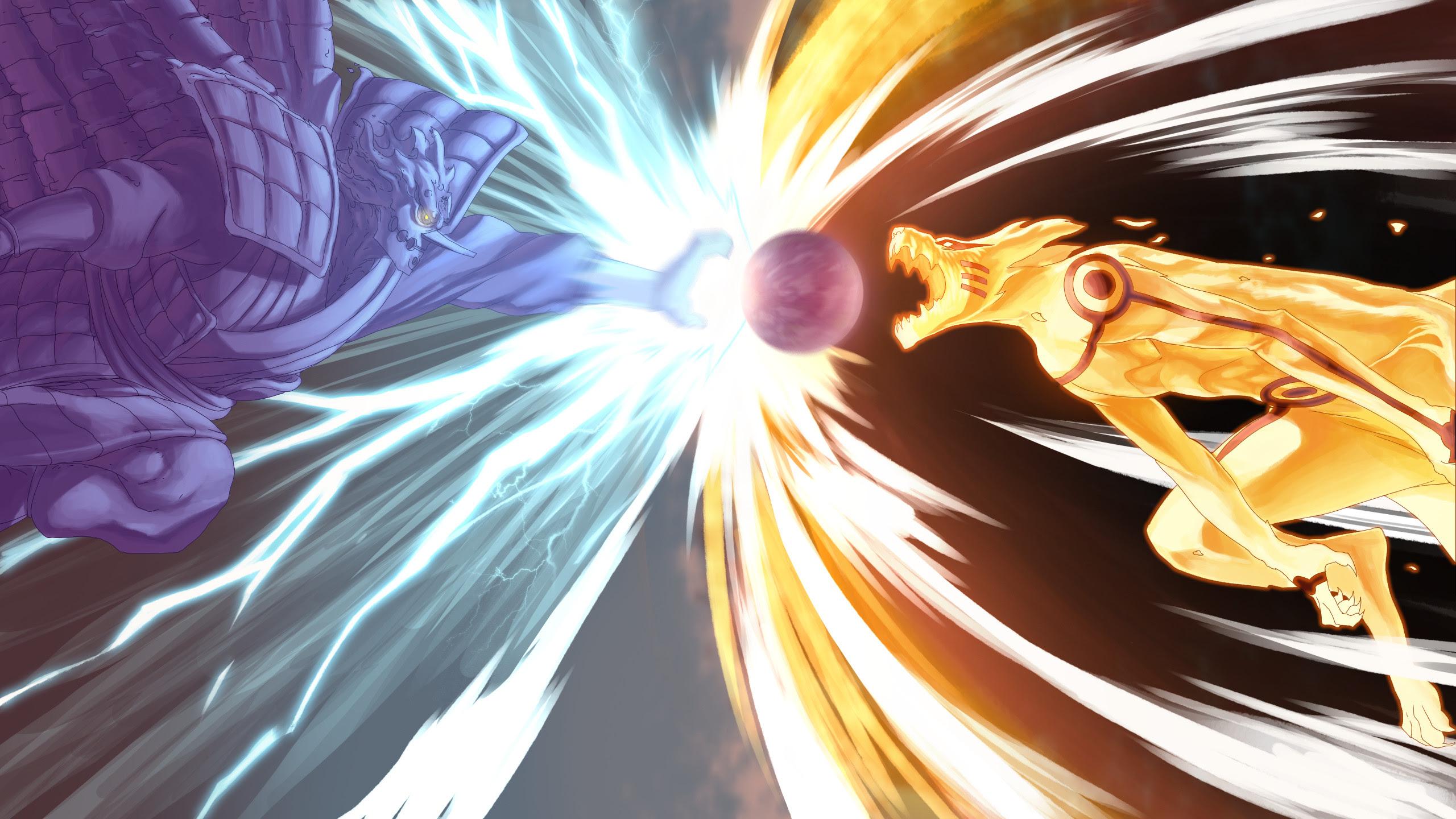 Naruto Fighting Wallpaper Hd