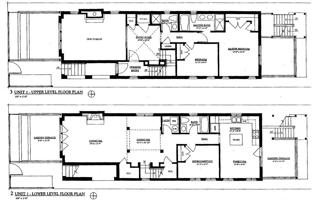 Chicago  3 Flats Archimage Architects Ltd