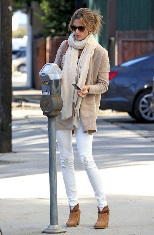 23 Le Fashion Blog 30 Fresh Ways To Wear White Jeans Alessandra Ambrosio Scarf Cardigan Rag Bone Boots Via Pop Sugar photo 23-Le-Fashion-Blog-30-Fresh-Ways-To-Wear-White-Jeans-Alessandra-Ambrosio-Scarf-Cardigan-Rag-Bone-Boots-Via-Pop-Sugar.jpg