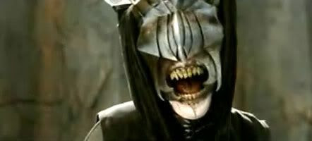 The Mouth of Sauron.