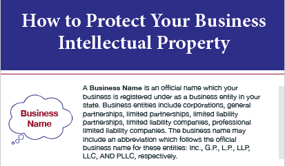 How to Protect Your Business Intellectual Property [Infographic] - Exit Promise