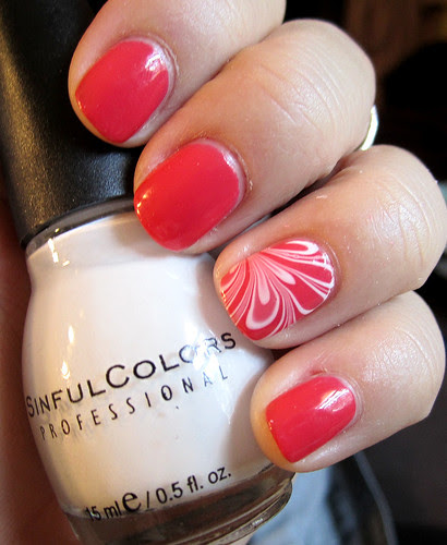 coral marble