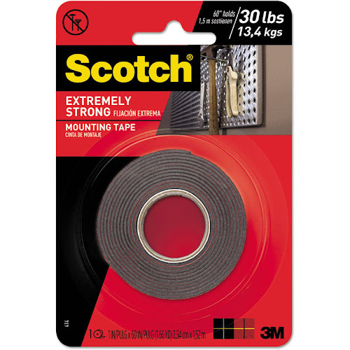 Scotch Extreme Mounting Tape 1 In. x 60 In.