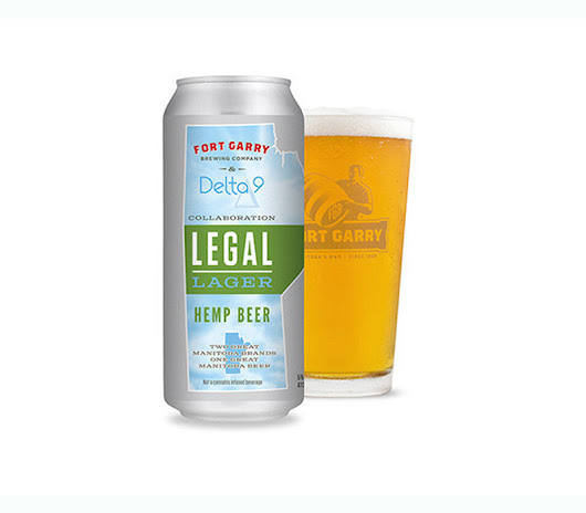 Delta 9 Cannabis and Fort Garry Brewing Release 'Legal Lager' Beer