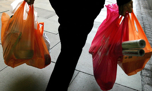 Scotland's plastic bag usage down 80% since 5p charge introduced