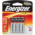 Energizer MAX AAA Alkaline Battery - 4 pack