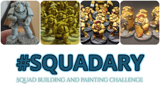 Squaduary Stage 2 - Review and get painting - Stepping Between Games