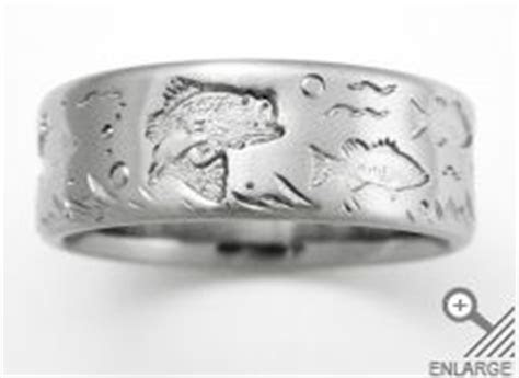 Titanium wedding rings, Bass fishing and Wedding ring on
