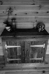 Reclaimed Pallet Wood Cabinet • 1001 Pallets