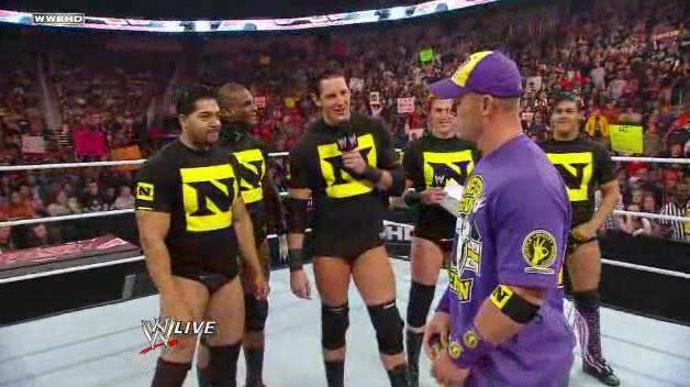 """John Cena w """"5 zawodników, którzy pociągnęli za sznurek"""""""