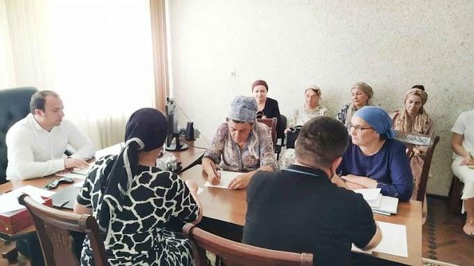 Вингушском филиале Россельхозцентра состоялось подведение итогов работы отделов запервое полугодие 2021 года