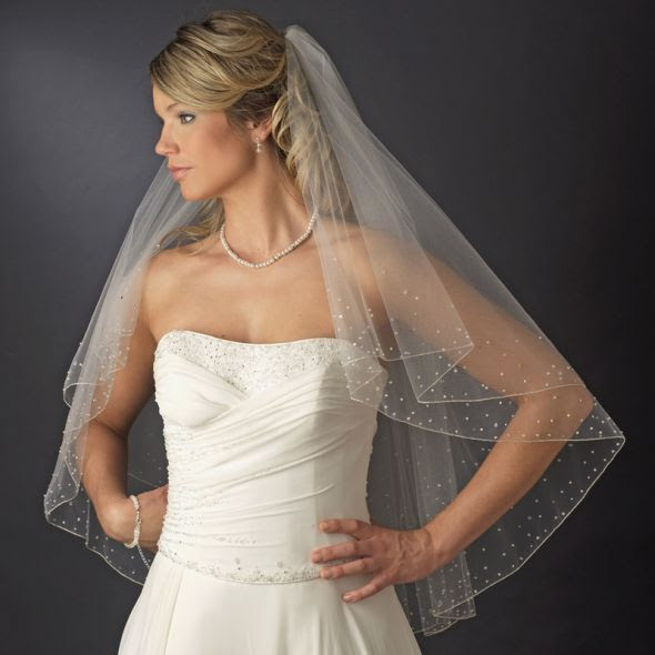 WANTED: Drop Veil :  wedding veil drop veil white ivory Aveil