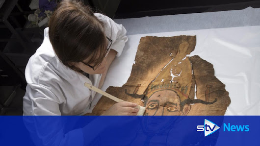 The Mummy Returns: Ancient shroud discovered at museum