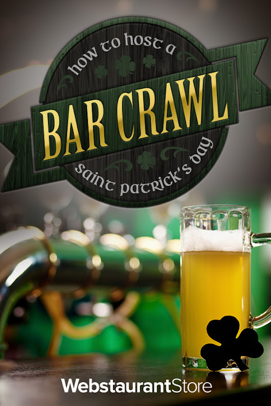 How to Host a St. Patrick's Day Bar Crawl
